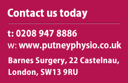 physiotherapist putney, physiotherapist sw18, physiotherapist wandsworth, fracture treatment putney, post surgery rehabilitation Putney, back pain putney, neck pain Putney, sports injuries treatment Putney